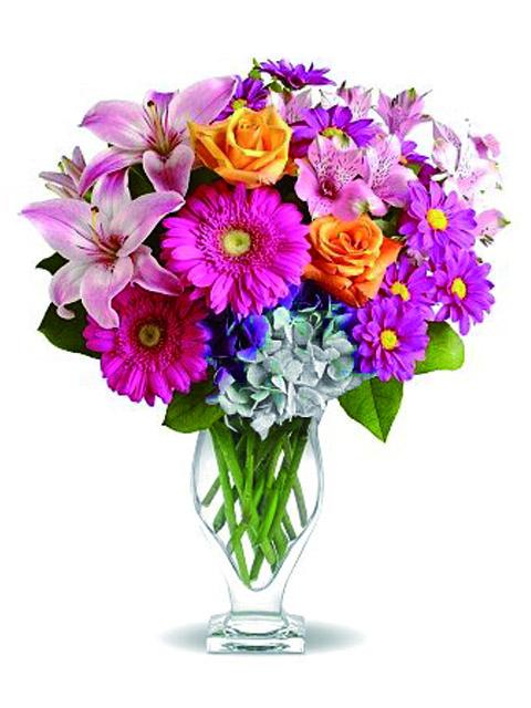 Bouquet di fiori misti a Roma
