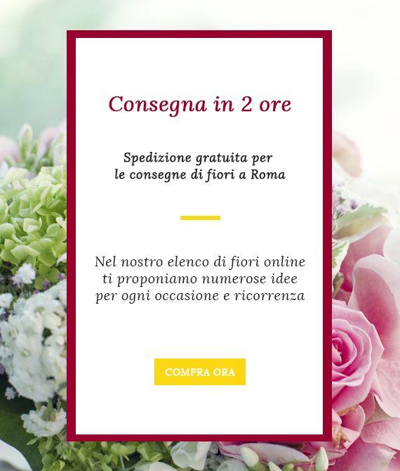 Fiori A Domicilio Roma.Consegna Fiori A Roma Consegna Fiori A Domicilio A Roma